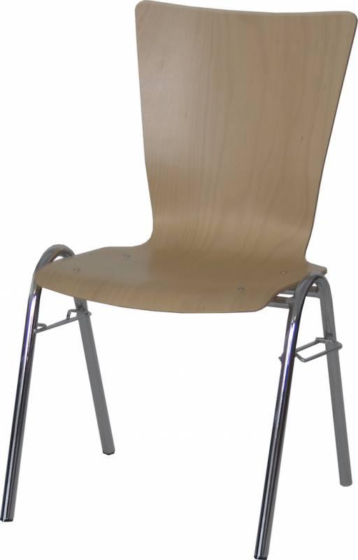 Konferenzstuhl stapelbar  STA-BLA (stapelbar)